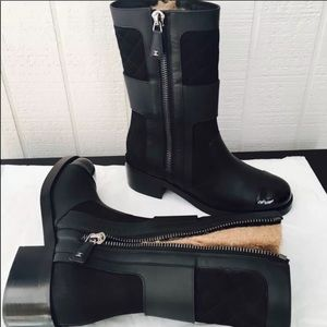 ONE DAY SALE! AUTHENTIC RARE CHANEL BOOTS!